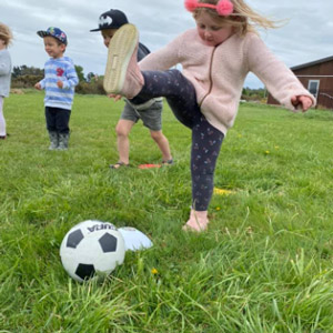 Ball skills programme for preschoolers – developingco-ordination and innate understanding of physics