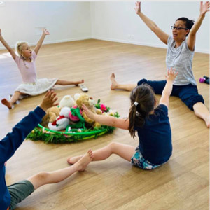 On-site ballet classes at preschool –developing a love of movement
