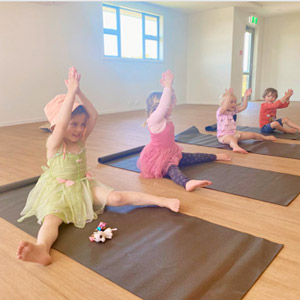 Yoga for preschoolers –building inner strength and resilience